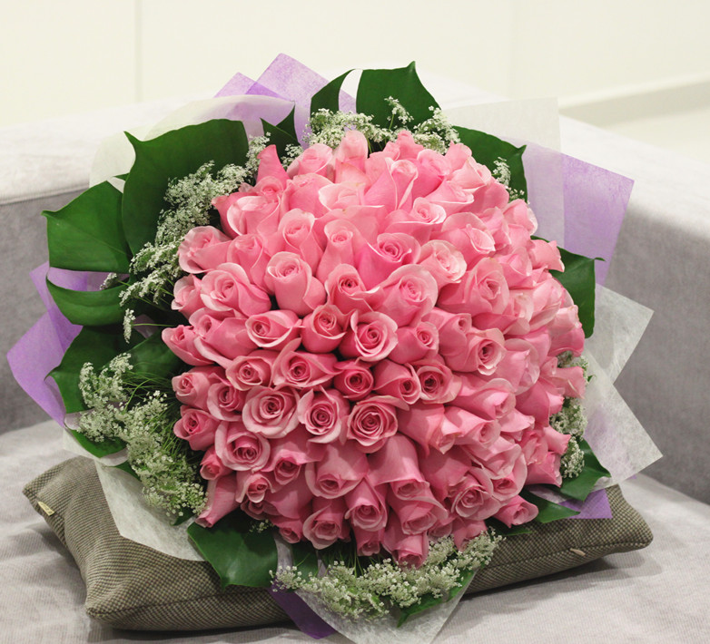 99 Pink Rose Bouquet Flower Delivery Philippines