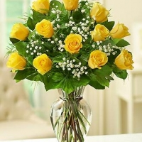 Rose Elegance™ Premium Long Stem Yellow Rose