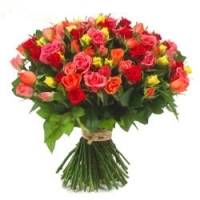 50 Mix Roses gifts
