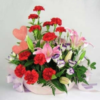 Flowers For Mother Basket