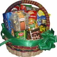 Basket with Gifts and Goodies#12