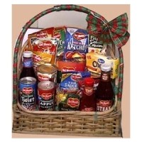Canned goods and other Goodies in Basket#13