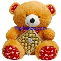 "36"" love teddy"