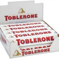 12 x Toblerone White 50 g.