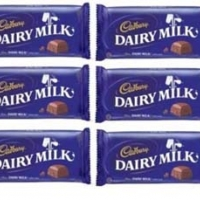 cadburry chocolates 6 bar