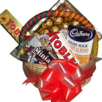 Delightful Chocolate Basket