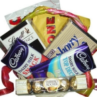 mix chocolate basket