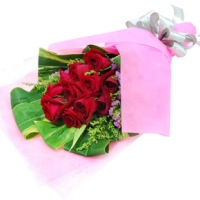 Rose Hand Bouquet 01